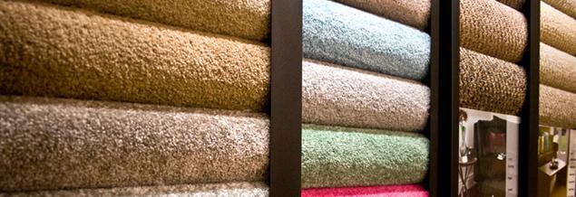 Carpets on display